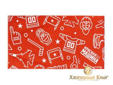 Полотенце банное 140х70 см Красная Машина сувенир, фото 4