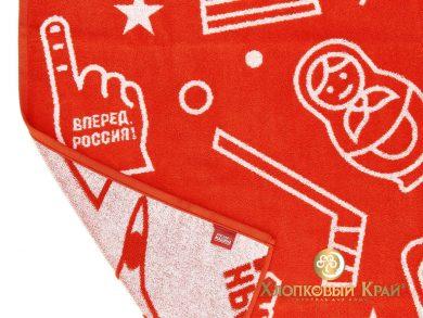 Полотенце банное 140х70 см Красная Машина сувенир, фото 5