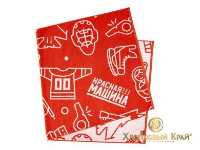 Полотенце банное 140х70 см Красная Машина сувенир, фото 7