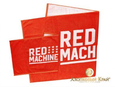 Полотенце банное 140х70 см Red Machine, фото 4