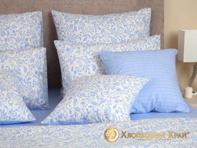 Постельное белье Эмма голубой, фото 2