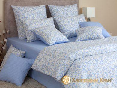 Постельное белье Эмма голубой, фото 4