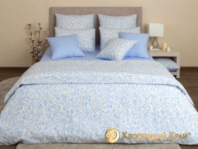 Постельное белье Эмма голубой, фото 5