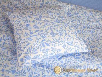 Постельное белье Эмма голубой, фото 6