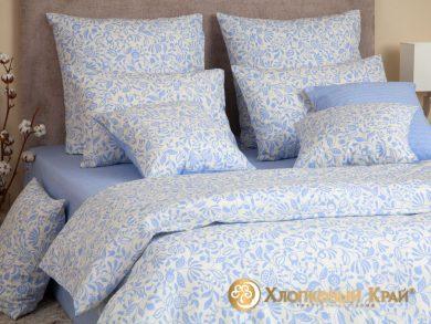 Постельное белье Эмма голубой, фото 7