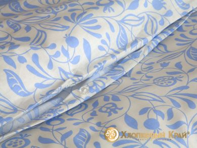 Постельное белье Эмма голубой, фото 10