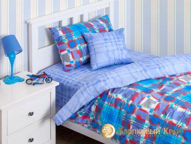 Детское постельное белье Geometry blue, фото 2
