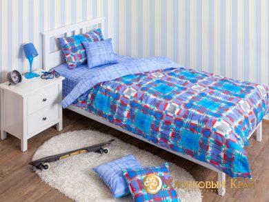 Детское постельное белье Geometry blue, фото 3