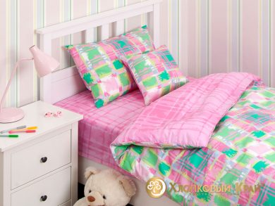 Детское постельное белье Geometry pink, фото 2