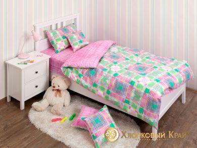 Детское постельное белье Geometry pink, фото 3
