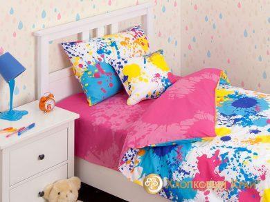 Детское постельное белье Happy pink, фото 2