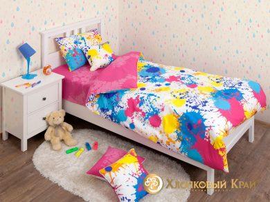 Детское постельное белье Happy pink, фото 4