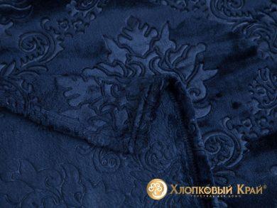 Плед велсофт Парма синий, фото 2
