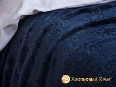 Плед велсофт Парма синий, фото 3