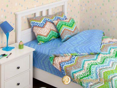 Детское постельное белье Zigzag green, фото 2