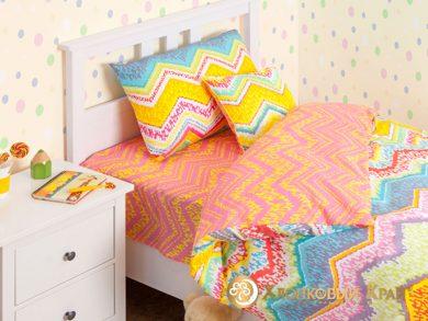 Детское постельное белье Zigzag orange, фото 2