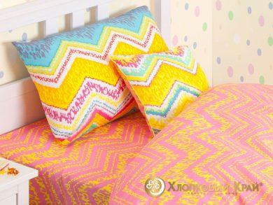 Детское постельное белье Zigzag orange, фото 4
