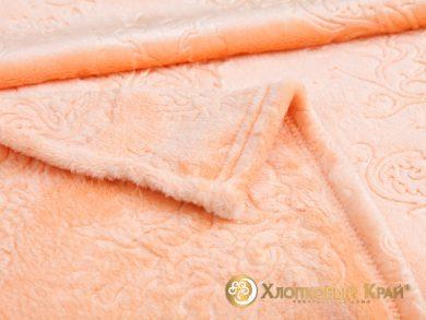 Плед велсофт Парма персик, фото 2
