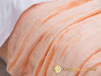 Плед велсофт Парма персик, фото 3