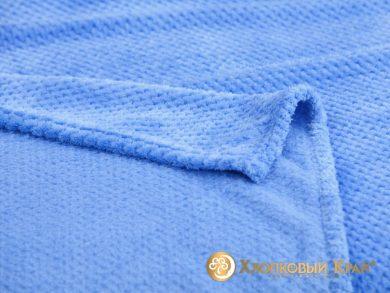 Плед велсофт Пиньоли синий, фото 2