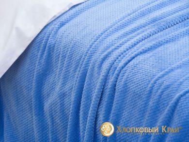 Плед велсофт Пиньоли синий, фото 3