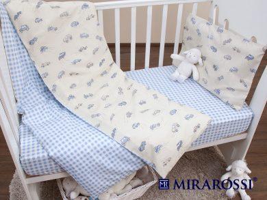 Постельное белье для новорожденных Auto, фото 5
