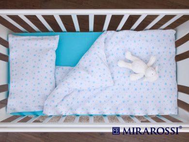 Постельное белье для новорожденных Stellina mia blue, фото 4