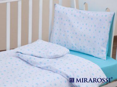 Постельное белье для новорожденных Stellina mia blue, фото 2