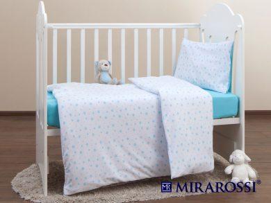 Постельное белье для новорожденных Stellina mia blue, фото 9