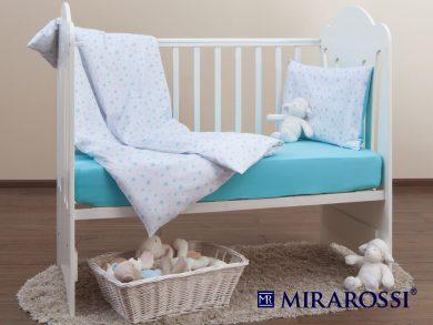Постельное белье для новорожденных Stellina mia blue, фото 10
