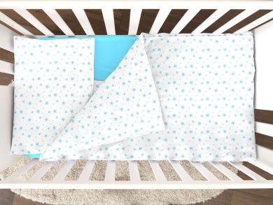 Постельное белье для новорожденных Stellina mia blue, фото 3