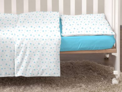 Постельное белье для новорожденных Stellina mia blue, фото 6