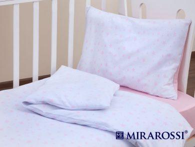 Постельное белье для новорожденных Stellina mia pink, фото 2