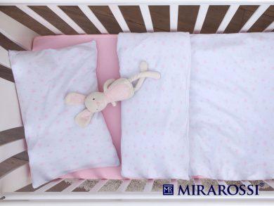 Постельное белье для новорожденных Stellina mia pink, фото 3
