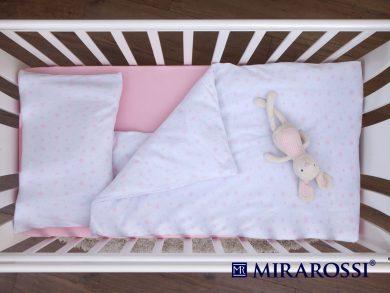 Постельное белье для новорожденных Stellina mia pink, фото 4