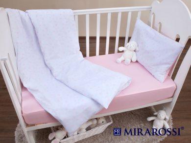 Постельное белье для новорожденных Stellina mia pink, фото 5