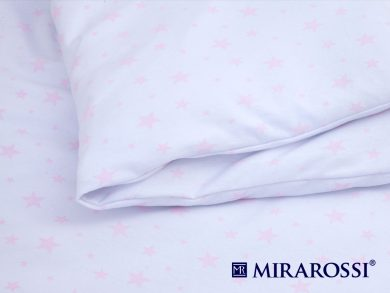 Постельное белье для новорожденных Stellina mia pink, фото 7