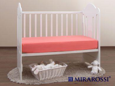 простыня на резинке в детскую кроватку Коралл, фото 2