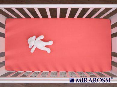 простыня на резинке в детскую кроватку Коралл, фото 3