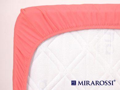 простыня на резинке в детскую кроватку Коралл, фото 4