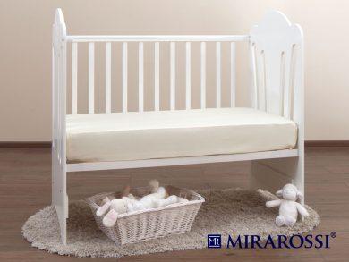 простыня на резинке в детскую кроватку Молоко, фото 2