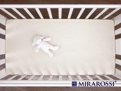 простыня на резинке в детскую кроватку Молоко, фото 3