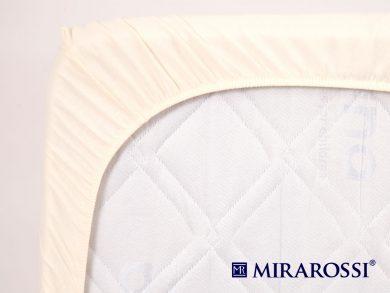 простыня на резинке в детскую кроватку Молоко, фото 4