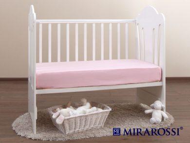 простыня на резинке в детскую кроватку Роза, фото 2