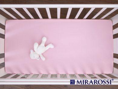 простыня на резинке в детскую кроватку Роза, фото 3