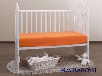 простыня на резинке в детскую кроватку Апельсин, фото 2