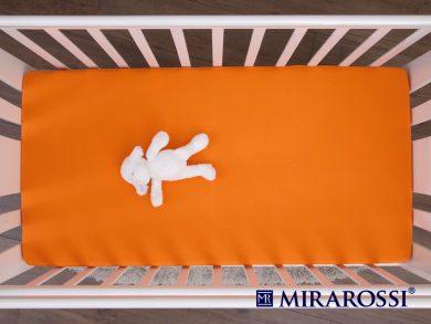 простыня на резинке в детскую кроватку Апельсин, фото 3