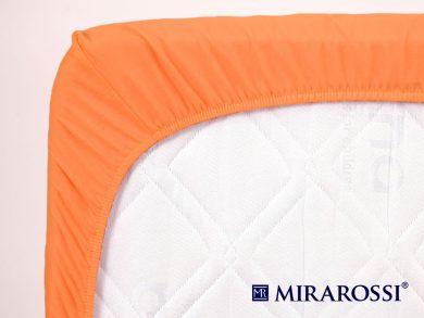 простыня на резинке в детскую кроватку Апельсин, фото 4