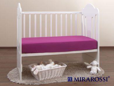 простыня на резинке в детскую кроватку Фиолет, фото 2