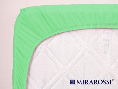 простыня на резинке в детскую кроватку Зеленое яблоко, фото 4